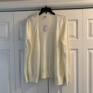 XL Old Navy Cream Cardigan